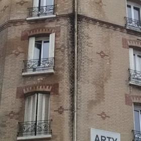 remplacement d'une descente d'eau pluviale Paris